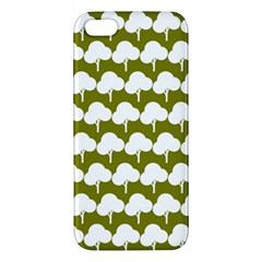 Tree Illustration Gifts Apple Iphone 5 Premium Hardshell Case by creativemom