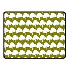 Tree Illustration Gifts Double Sided Fleece Blanket (small)