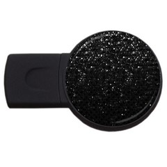 Crystal Bling Strass G283 Usb Flash Drive Round (4 Gb)  by MedusArt