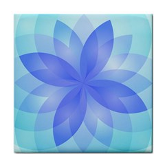 Abstract Lotus Flower 1 Tile Coasters by MedusArt