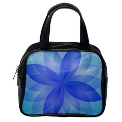 Abstract Lotus Flower 1 Classic Handbags (one Side) by MedusArt