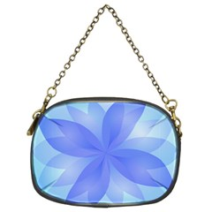 Abstract Lotus Flower 1 Chain Purses (two Sides)  by MedusArt