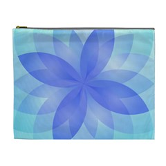 Abstract Lotus Flower 1 Cosmetic Bag (xl) by MedusArt