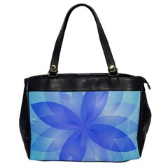 Abstract Lotus Flower 1 Office Handbags by MedusArt