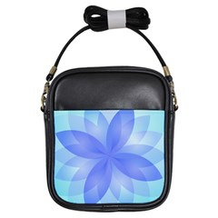 Abstract Lotus Flower 1 Girls Sling Bags by MedusArt