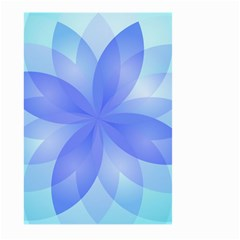 Abstract Lotus Flower 1 Large Garden Flag (two Sides) by MedusArt