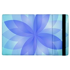 Abstract Lotus Flower 1 Apple Ipad 3/4 Flip Case by MedusArt