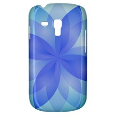 Abstract Lotus Flower 1 Samsung Galaxy S3 Mini I8190 Hardshell Case by MedusArt