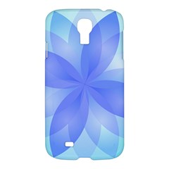 Abstract Lotus Flower 1 Samsung Galaxy S4 I9500/i9505 Hardshell Case by MedusArt