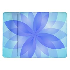 Abstract Lotus Flower 1 Samsung Galaxy Tab 10 1  P7500 Flip Case by MedusArt