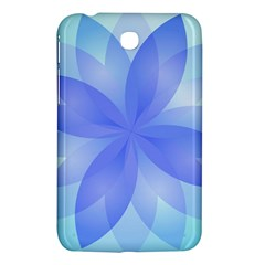 Abstract Lotus Flower 1 Samsung Galaxy Tab 3 (7 ) P3200 Hardshell Case  by MedusArt