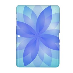 Abstract Lotus Flower 1 Samsung Galaxy Tab 2 (10 1 ) P5100 Hardshell Case  by MedusArt