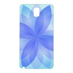 Abstract Lotus Flower 1 Samsung Galaxy Note 3 N9005 Hardshell Back Case by MedusArt