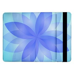 Abstract Lotus Flower 1 Samsung Galaxy Tab Pro 12 2  Flip Case by MedusArt