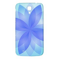 Abstract Lotus Flower 1 Samsung Galaxy Mega I9200 Hardshell Back Case by MedusArt