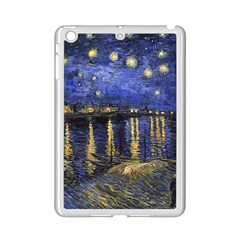Vincent Van Gogh Starry Night Over The Rhone Ipad Mini 2 Enamel Coated Cases by MasterpiecesOfArt