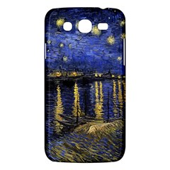 Vincent Van Gogh Starry Night Over The Rhone Samsung Galaxy Mega 5 8 I9152 Hardshell Case  by MasterpiecesOfArt