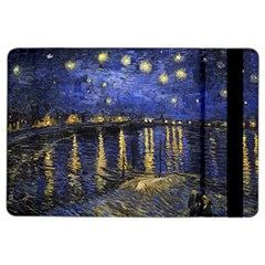Vincent Van Gogh Starry Night Over The Rhone Ipad Air 2 Flip by MasterpiecesOfArt