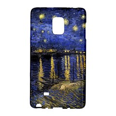 Vincent Van Gogh Starry Night Over The Rhone Galaxy Note Edge by MasterpiecesOfArt