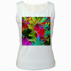 Floral Abstract 1 Women s Tank Tops by MedusArt