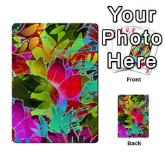 Floral Abstract 1 Multi Purpose Cards (rectangle)  by MedusArt