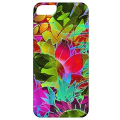 Floral Abstract 1 Apple Iphone 5 Classic Hardshell Case by MedusArt