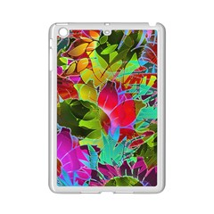 Floral Abstract 1 Ipad Mini 2 Enamel Coated Cases by MedusArt