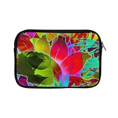 Floral Abstract 1 Apple Ipad Mini Zipper Cases by MedusArt