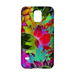Floral Abstract 1 Samsung Galaxy S5 Hardshell Case  by MedusArt