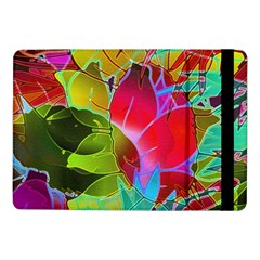 Floral Abstract 1 Samsung Galaxy Tab Pro 10 1  Flip Case by MedusArt