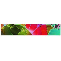 Floral Abstract 1 Flano Scarf (large)  by MedusArt