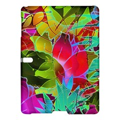 Floral Abstract 1 Samsung Galaxy Tab S (10 5 ) Hardshell Case  by MedusArt