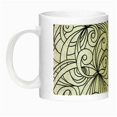 Drawing Floral Doodle 1 Night Luminous Mugs by MedusArt