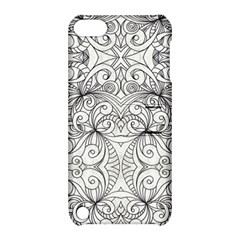 Drawing Floral Doodle 1 Apple Ipod Touch 5 Hardshell Case With Stand by MedusArt