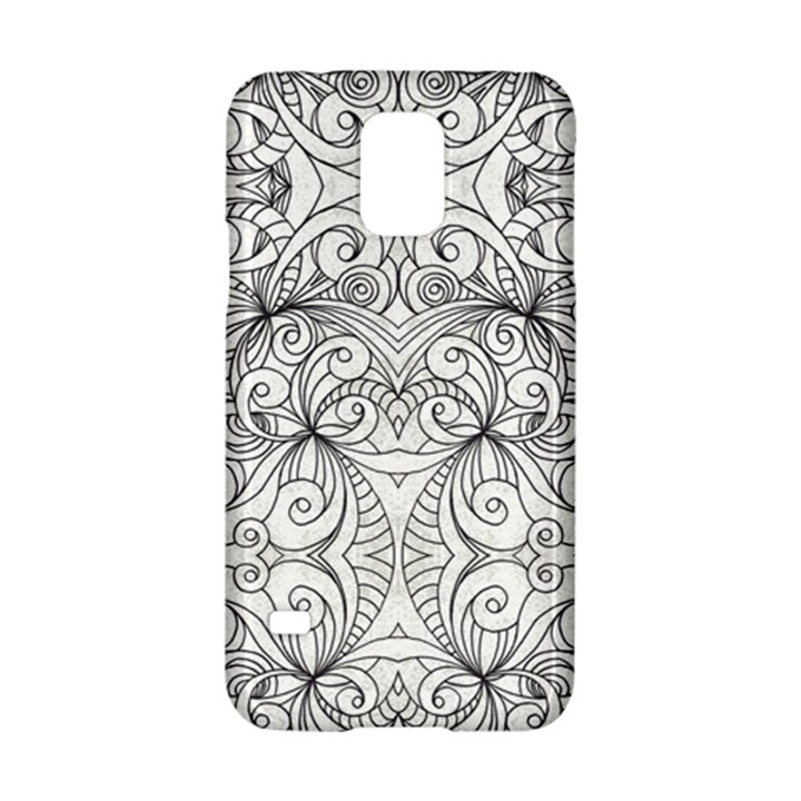 Drawing Floral Doodle 1 Samsung Galaxy S5 Hardshell Case