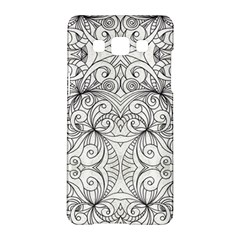 Drawing Floral Doodle 1 Samsung Galaxy A5 Hardshell Case  by MedusArt