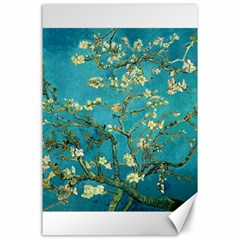 Blossoming Almond Tree Canvas 24  X 36  by MasterpiecesOfArt