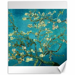 Blossoming Almond Tree Canvas 11  X 14   by MasterpiecesOfArt