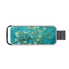 Blossoming Almond Tree Portable Usb Flash (two Sides) by MasterpiecesOfArt