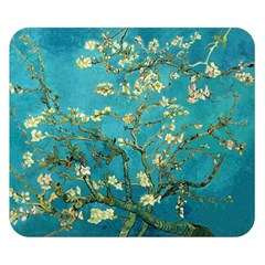 Blossoming Almond Tree Double Sided Flano Blanket (small)  by MasterpiecesOfArt