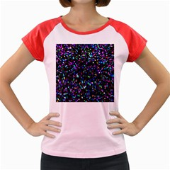 Glitter 1 Women s Cap Sleeve T-shirt