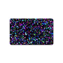 Glitter 1 Magnet (name Card)