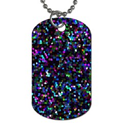 Glitter 1 Dog Tag (two Sides) by MedusArt