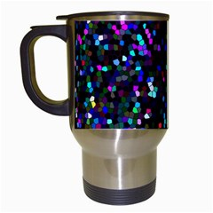 Glitter 1 Travel Mugs (white) by MedusArt