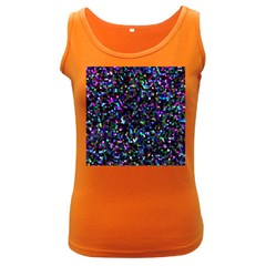 Glitter 1 Women s Dark Tank Tops