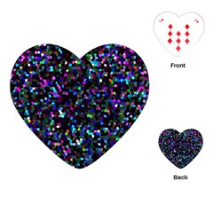 Glitter 1 Playing Cards (heart)  by MedusArt
