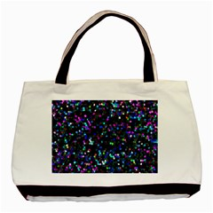 Glitter 1 Basic Tote Bag  by MedusArt