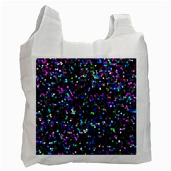 Glitter 1 Recycle Bag (one Side) by MedusArt