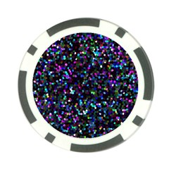 Glitter 1 Poker Chip Card Guards (10 Pack)