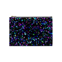 Glitter 1 Cosmetic Bag (medium)  by MedusArt